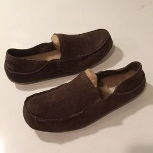New Ugg men's Upshaw Leather moccasin Loafers 🔥 8